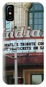 Terre Haute - Indiana Theater IPhone Case