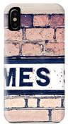 Thames Side IPhone Case