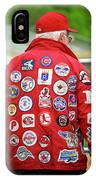 The Baseball Fan IPhone Case