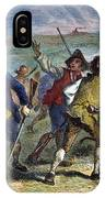 The Battle Of Concord, 1775 IPhone Case