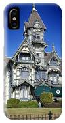 The Carson Mansion IPhone Case