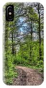 The Forest Path IPhone Case