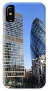 The Gherkin Building In London England IPhone Case