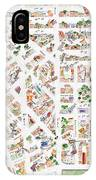 The Greenwich Village Map IPhone Case