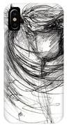 The Horse Sketch IPhone Case