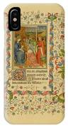 The Magi With Mary And Jesus -  Page IPhone Case