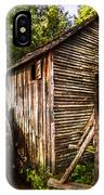 The Mill At Cades Cove IPhone Case