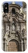 The Monastery Of San Francisco - Lima Peru IPhone Case