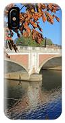 The River Thames At Hampton Court London IPhone Case