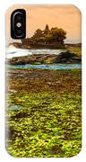 The Tanah Lot Temple - Bali - Indonesia IPhone Case