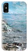 2 Thessalonians 3 16 IPhone Case