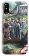 Tintoretto's The Worship Of The Golden Calf IPhone Case