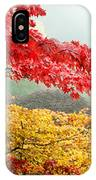 Trees In A Garden, Butchart Gardens IPhone Case