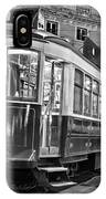 Typical Lisbon Tram In Commerce Square IPhone Case