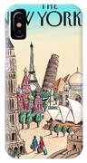 New Yorker April 20th, 2009 IPhone X Case
