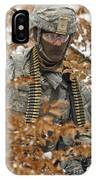 U.s. Army Soldier Conducts A Dismounted IPhone Case