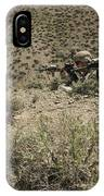 U.s. Soldiers Provide Security IPhone Case