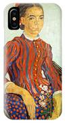 Van Gogh's La Mousme IPhone Case
