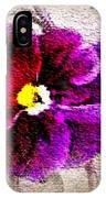 Vibrant Violet  IPhone Case