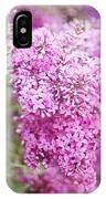 Vintage Lilac IPhone Case
