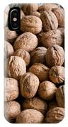 Walnuts In A Basket IPhone Case