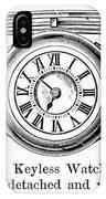 Watch Bracelet, 1891 IPhone Case
