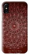 Wave Particle Duality IPhone Case