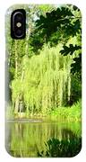 Weeping Willow Pond IPhone Case