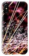 Wild Grasses Abstract IPhone Case