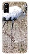 Wood Stork IPhone Case
