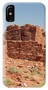 Wupatki Pueblo In Wupatki National Monument IPhone Case