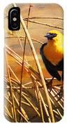 Yellow - Headed Blackbird IPhone Case