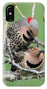 Yellow-shafted Northern Flickers IPhone Case