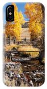 Yellowstone Institute In Lamar Valley In Yellowstone National Park IPhone Case