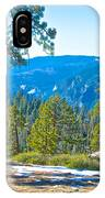 Yosemite Valley Mountainside From Sentinel Dome Trail In Yosemite Np-ca IPhone Case