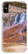 Zion Waterfall IPhone Case