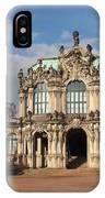 Zwinger - Dresden - Germany IPhone Case