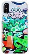 Graffiti IPhone Case