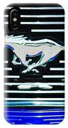 2007 Ford Mustang Grille Emblem IPhone Case