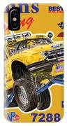 2008 Ford F-150 Racing Poster IPhone Case