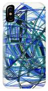 2010 Abstract Drawing 22 IPhone Case