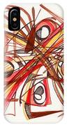2010 Abstract Drawing 23 IPhone Case
