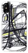 2010 Abstract Drawing 27 IPhone Case