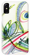 2012 Drawing #36 IPhone Case