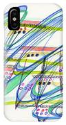 2012 Drawing #9 IPhone Case