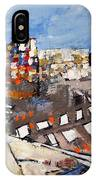 2013 015 Crosswalk Silver Orange And Blue Arlington Virginia IPhone Case