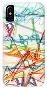 2013 Abstract Drawing #7 IPhone Case