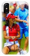 2013 Solheim Cup - Michelle Wie IPhone Case