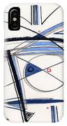 2014 Abstract Drawing #1 IPhone Case