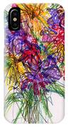 2014 Abstract Drawing #14 IPhone Case